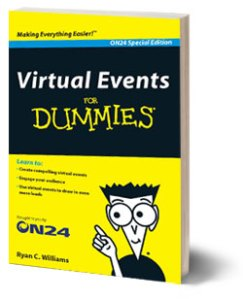 Virtual Events for Dummies cover